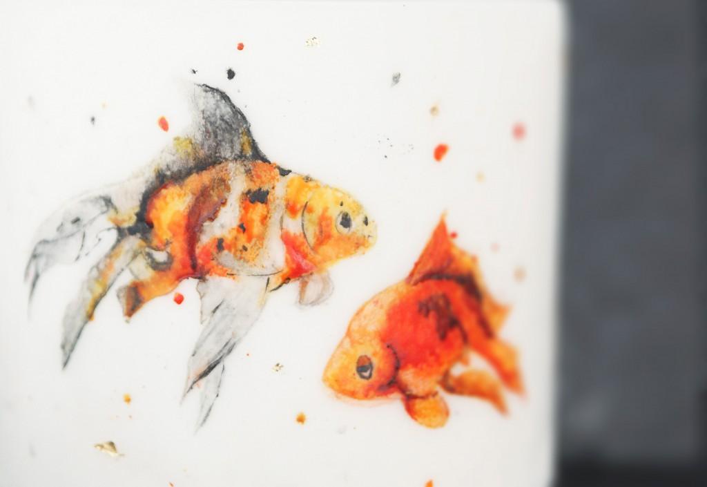 Hochzeitstorte Goldfisch aus Stuttgart