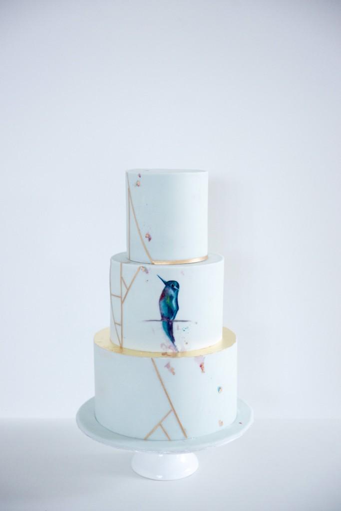 Kolibri Hochzeitstorte
