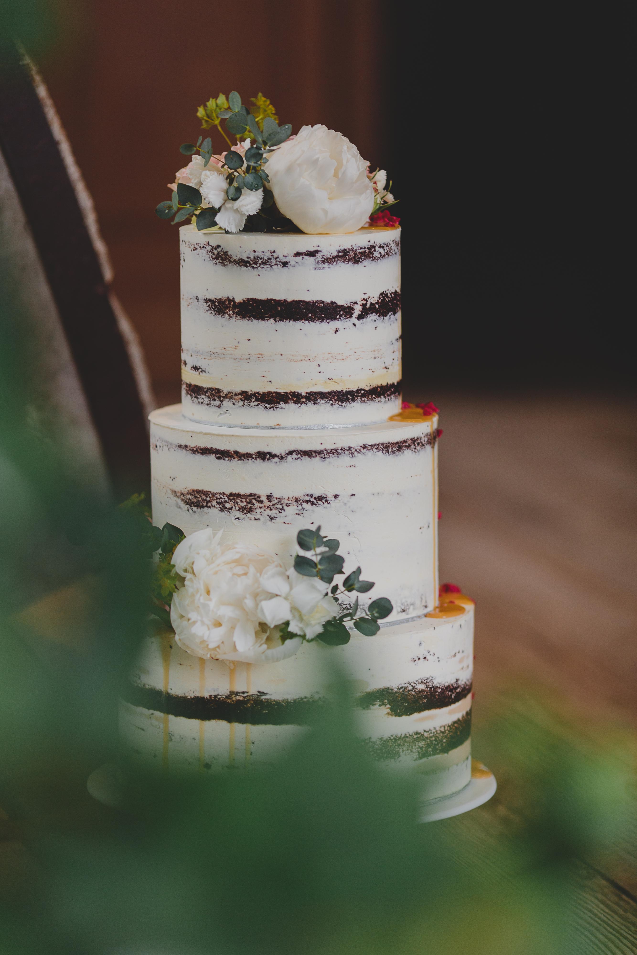 Semi Naked Cake Hochzeitstorten Stuttgart Zuckergluck